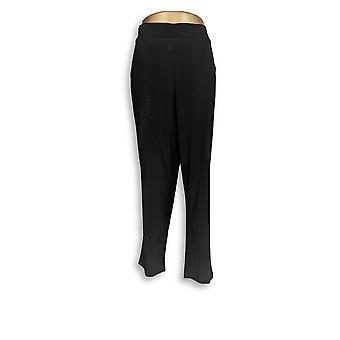 Attitudes by Renee Women's Petite Pants Wardrobe Warrior Black A308329