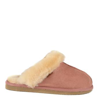 Shepherd of Sweden Jessica Marsala Sheepskin Slipper