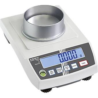 Precision scales Kern Weight range 250 g Readability 0.001 g mains-powered, battery-powered, rechargeable Silver