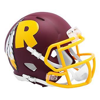 Riddell Speed Mini Football Helmet - AMP Washington Redskins