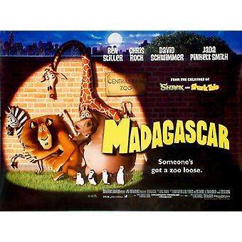 Madagaskarin (kaksipuolinen) alkuperäinen elokuva juliste
