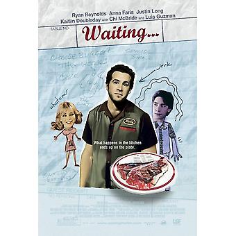 Waiting (dubbelsidig Regular Style B) (2005) original Cinema affisch