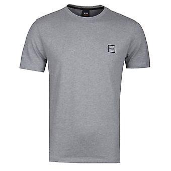 BOSS Tales Mitte graues T-Shirt