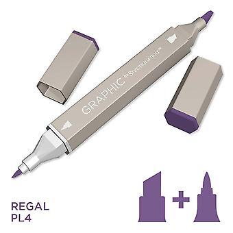 Graphic by Spectrum Noir Single Pens - Regal