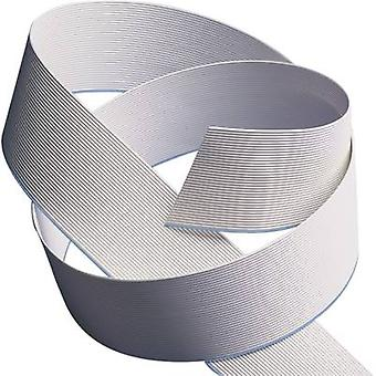 3M 7000057371 Ribbon cable Contact spacing: 1.27 mm 34 x 0.08 mm² Grey Sold per metre