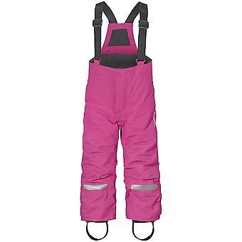Didriksons Idre 3 Kids Junior skibroek SALOPETTES | Kunststof roze