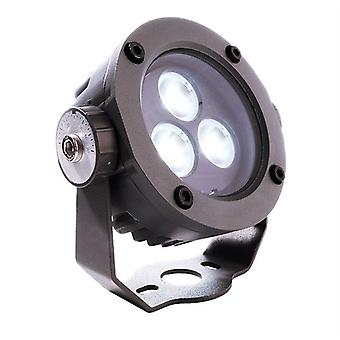 Led Spotlight Power Spot 5 W 6500 K D 90 mm dimmable gris oscuro aluminio IP65