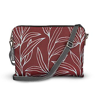 Nicky James eucalyptus Clutch met afneembare riem