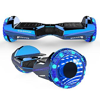Colorway Hoverboard 6.5 'quot; Bluetooth'APP LED Wheels Electric Scooter Blue