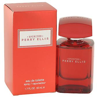 Perry Ellis Spirited by Perry Ellis Eau De Toilette Spray 1.7 oz / 50 ml (Men)