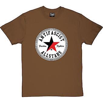 Antifascist Allstars Chestnut Men's T-Shirt