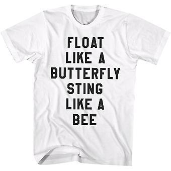 American Classics Muhammad Ali floatie T-paita-valkoinen