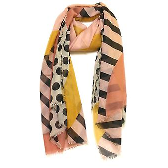 SOYACONCEPT Soyaconcept Yellow Navy Or Green Scarf 50878