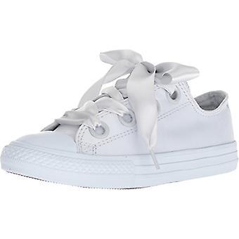 Kids Converse Girls CTAS Big Eyelet Ox Low Top Lace Up Fashion Sneaker