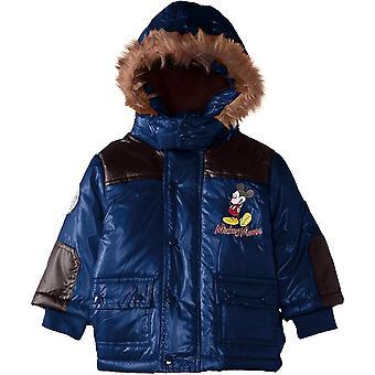 Мальчики Disney Микки Маус Baby зимняя с капюшоном Куртка / Куртка