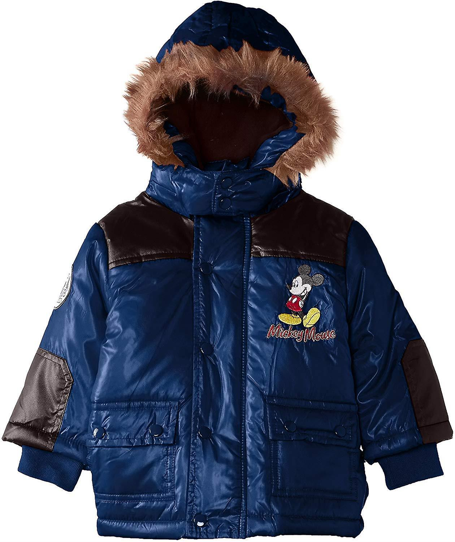 Boys Disney Mickey Mouse Baby Winter Hooded Parka / Jacket
