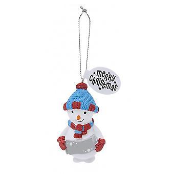 Geschiedenis & heraldiek feestelijke vrienden opknoping boom decoratie-lege Snowboy