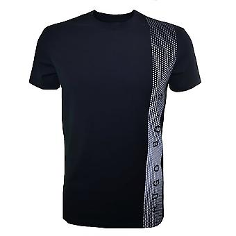 Hugo Boss Leisure Wear Hugo Boss Men's Slim Fit Black Printed T-Shirt