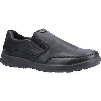 Hush Welpen Herren Aaron Slip auf Leder Loafer Schuhe