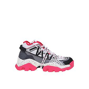 Kenzo Fa52sn301f5227 Women's Multicolor Leather Sneakers
