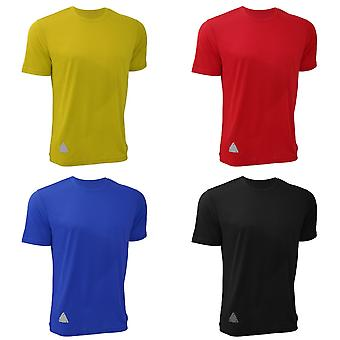 RTY Mens haute visibilité renforcée T-Shirt dynamique