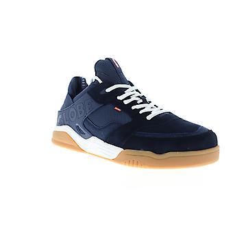 Globe Tilt Evo  Mens Blue Suede Lace Up Athletic Skate Shoes