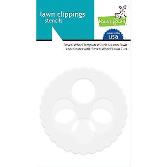 Lawn Fawn enthüllen Rad Vorlagen: Kreis