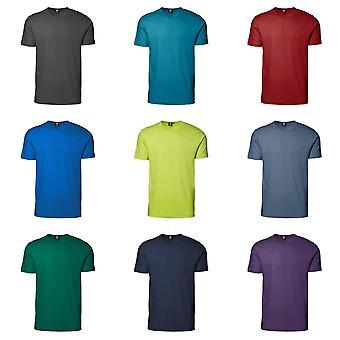 ID Unisex Interlock Fitted Short Sleeve Round Neck T-Shirt