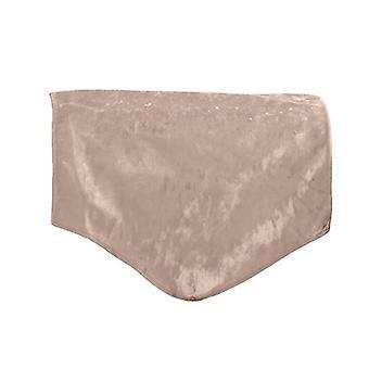 Wechseln Sofas Trüffel crushed Velvet RückenSitz Bezug für Stuhl, Sofa oder Sessel