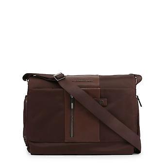 Piquadro Original Men All Year Crossbody Bag - Brown Color 55429