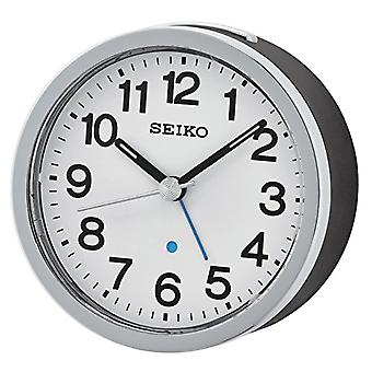 Seiko Unisex probudí analogové černé plastové qhe138_K
