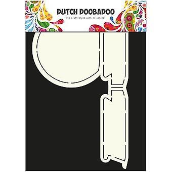 Hollandsk Doobadoo hollandsk kort Kunst stencil Snowglobe A4 470.713.591