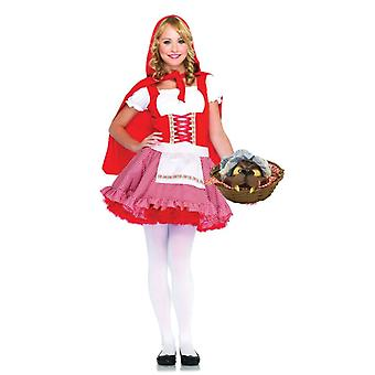 Little Miss Red Kostuum voor vrouwen
