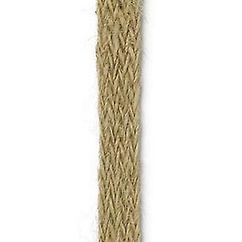 Vivant Jute ribbon flat beige / natural - 8 MT 10MM