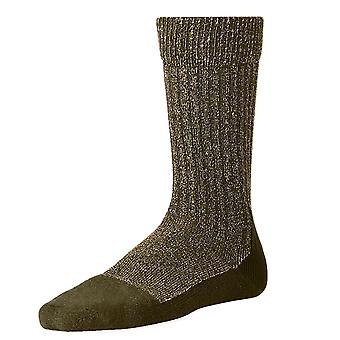 Red Wing Deep Toe Capped Olive Wool Socks -6-9