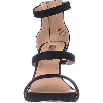 INC International Concepts Femmes Sadiee Suede Open Toe Formal Ankle Strap Sa...