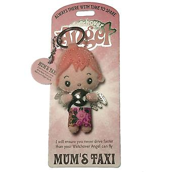 Watchover Angels Mums Taxi Angel Keyring