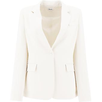 P.a.r.o.s.h. D420220002 Damen's Weißer Polyester Blazer