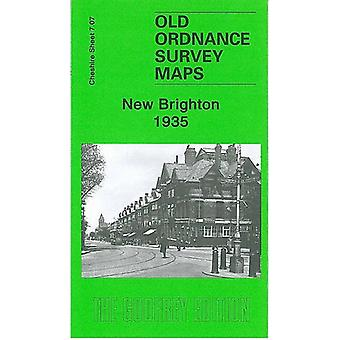 New Brighton 1935 - Cheshire Sheet 7.07b by New Brighton 1935 - Cheshir