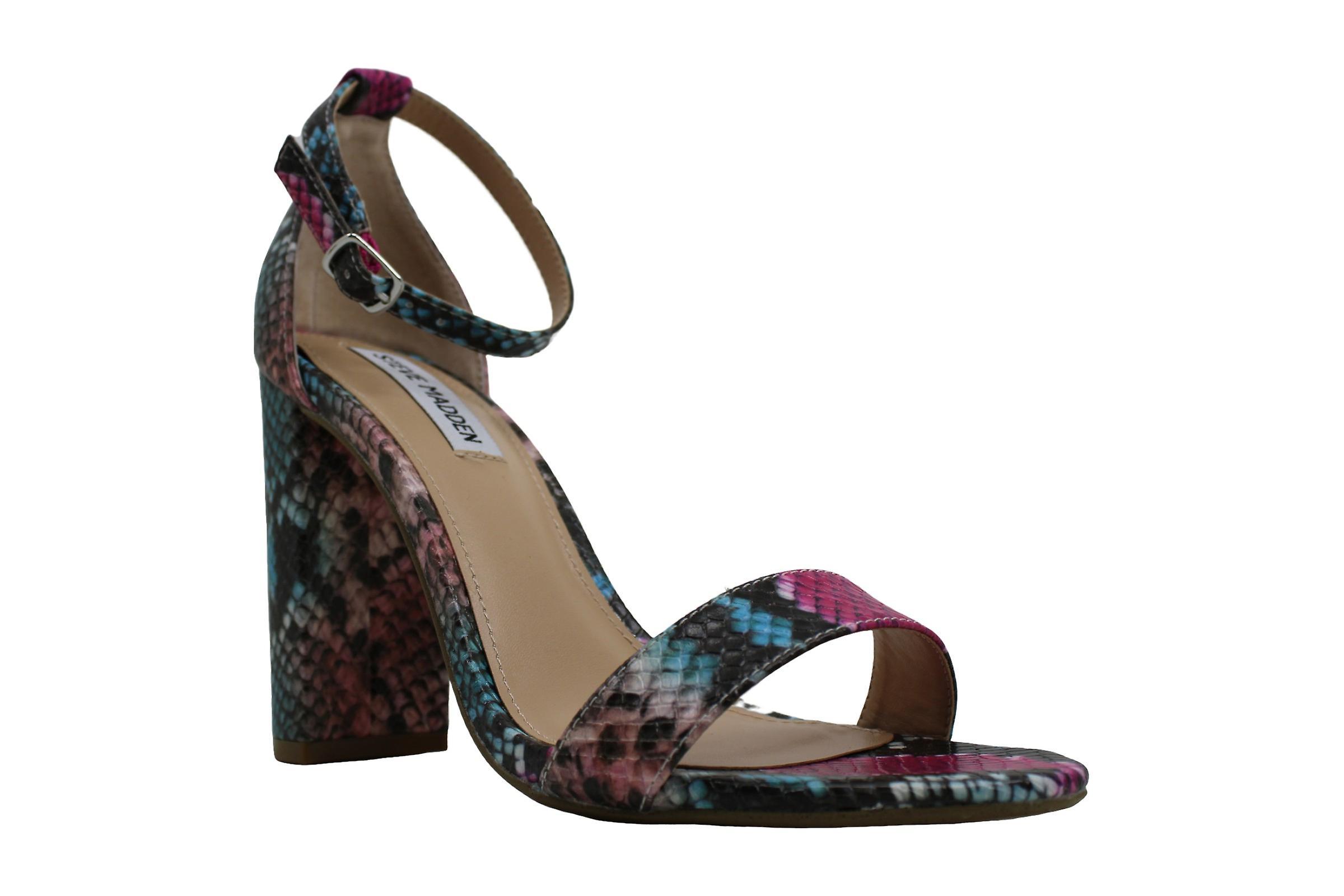 Steve Madden Womens carrson Peep Toe Casual Ankle Strap Sandals u3cBd