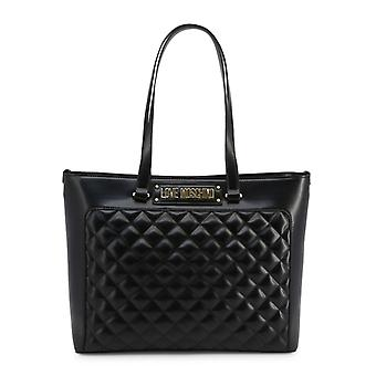 Love Moschino Kobiety Czarne torby na zakupy -- JC40516784