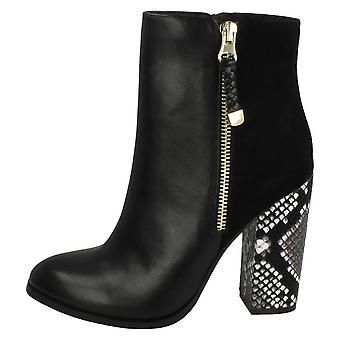 ऐनी मिशेल महिला/देवियों उच्च सर्प एड़ी टखने जूते