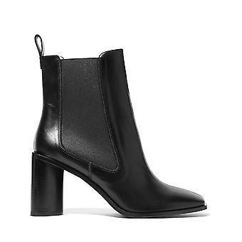 Acne Studios Ezcr025001 Women-apos;s Black Leather Ankle Boots