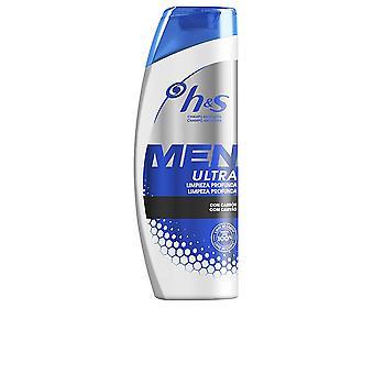 Head & Shoulders H&s Men Ultra Champú Limpieza Profunda 600 Ml For Men