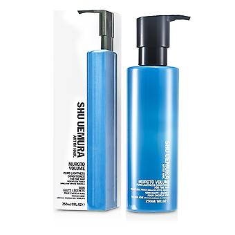 Muroto volume pure lightness conditioner (for fine hair) 250ml/8oz