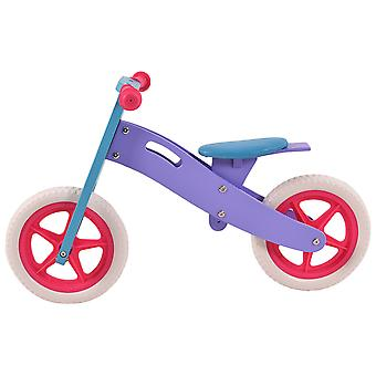 Children Learning Training Bicycle Wooden Kids Toddler Balance Bike 2 to 5 Old