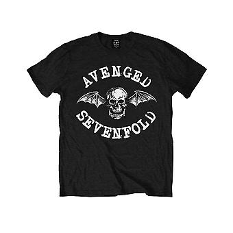 Avenged Sevenfold Kids T Shirt Classic Deathbat nou Oficial Black Ages 1-12 ani