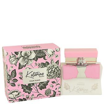 Armaf Katarina Blush Eau De Parfum Spray By Armaf 3.4 oz Eau De Parfum Spray