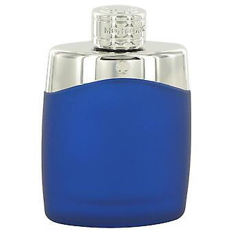 Montblanc Legend Eau De Toilette Spray (Special Edition Blue Tester) By Mont Blanc 3.4 oz Eau De Toilette Spray