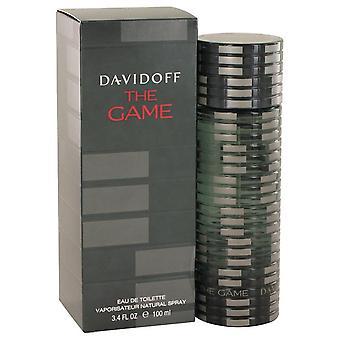 The Game Eau De Toilette Spray By Davidoff 3.4 oz Eau De Toilette Spray